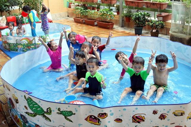 平台玩水活動